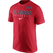 Nike Men's Ole Miss Rebels Red Football Practice T-Shirt
