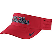 Nike Men's Ole Miss Rebels Red Vapor Sideline Visor