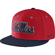 Nike Men's Ole Miss Rebels Red True Adjustable Performance Hat