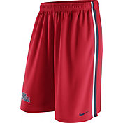 Nike Men's Ole Miss Rebels Red Epic Shorts