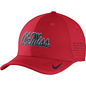 Nike Men's Ole Miss Rebels Red Vapor Sideline Coaches Hat