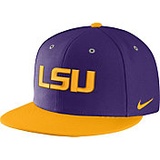 Nike Men's LSU Tigers Purple True Adjustable Performance Hat