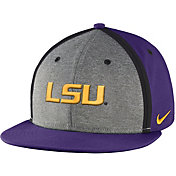 Nike Men's LSU Tigers Purple/Grey Sideline True Adjustable Performance Hat