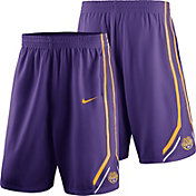 Nike Men's LSU Tigers Purple Replica Basketball Shorts