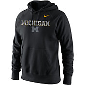 Nike Men's Michigan Wolverines Black Project Fresh Camo Pack Hoodie