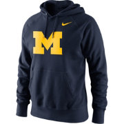 Nike Men's Michigan Wolverines Blue Classic Logo Hoodie