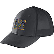 Nike Men's Michigan Wolverines Anthracite Legacy91 Flex Mesh Back Hat
