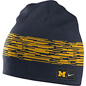 Nike Men's Michigan Wolverines Blue/Maize Reversible Local DNA Beanie