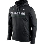 Nike Men's Michigan State Spartans Black Circuit PO Hoodie
