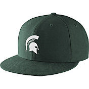 Nike Men's Michigan State Spartans Green True Fitted On-Field Baseball Hat