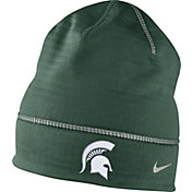 Nike Men's Michigan State Spartans Green Champ Drive Fleece Beanie