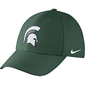Nike Men's Michigan State Spartans Green Dri-FIT Wool Swoosh Flex Hat