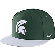 Nike Men's Michigan State Spartans Green True Adjustable Performance Hat