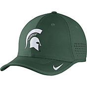 Nike Men's Michigan State Spartans Green Vapor Sideline Coaches Hat