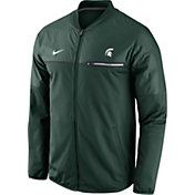 Nike Men's Michigan State Spartans Green Elite Hybrid Jacket