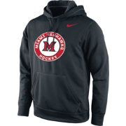 Nike Men's Miami RedHawks Black KO Performance Hockey Hoodie