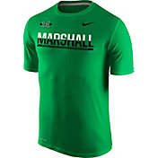 Nike Men's Marshall Thundering Herd Green Legend Staff Sideline T-Shirt