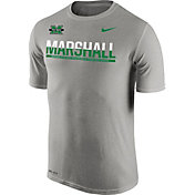 Nike Men's Marshall Thundering Herd Grey Legend Staff Sideline T-Shirt