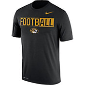 Nike Men's Missouri Tigers FootbALL Legend Black T-Shirt