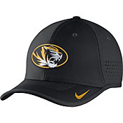 Nike Men's Missouri Tigers Black Vapor Sideline Coaches Hat