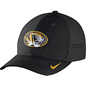 Nike Men's Missouri Tigers Black Vapor Sideline Swoosh Flex Hat