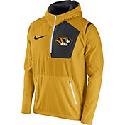 Nike Men's Missouri Tigers Gold Speed Fly Rush Football Jacket