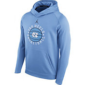 Jordan Men's North Carolina Tar Heels Carolina Blue Circuit Basketball Hoodie