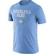 Jordan Men's North Carolina Tar Heels Carolina Blue Basketball T-Shirt