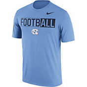 Nike Men's North Carolina Tar Heels Carolina Blue FootbALL Legend T-Shirt