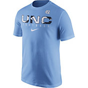 Nike Men's North Carolina Tar Heels Carolina Blue Football Practice T-Shirt