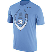 Nike Men's North Carolina Tar Heels Carolina Blue Football Icon Legend T-Shirt