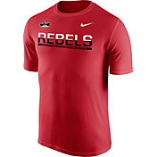 Nike Men's UNLV Rebels Scarlet Legend Staff Sideline T-Shirt