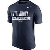 Nike Men's Villanova Wildcats Navy ELITE Basketball Practice T-Shirt