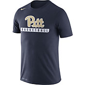 Nike Men's Pitt Panthers Blue Basketball Practice Legend T-Shirt