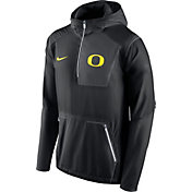 Nike Men's Oregon Ducks Black Vapor Speed Fly Rush Sideline Jacket