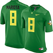 Nike Men's Marcus Mariota Oregon Ducks #8 Apple Green Replica College Alumni Jersey