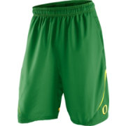 Nike Men's Oregon Ducks Apple Green Stadium Team First Woven Shorts