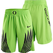 Nike Men's Oregon Ducks Electric Green Authentic Basketball Shorts