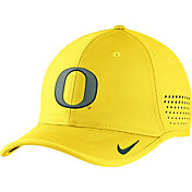 Nike Men's Oregon Ducks Yellow Vapor Sideline Coaches Hat
