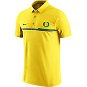 Nike Men's Oregon Ducks Yellow Elite Coaches Performance Polo