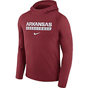 Nike Men's Arkansas Razorbacks Cardinal Basketball Performance Hoodie