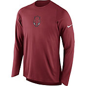 Nike Men's Arkansas Razorbacks Cardinal ELITE Shooter Long Sleeve Shirt