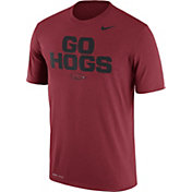 Nike Men's Arkansas Razorbacks Cardinal 'Go Hogs' Authentic Local Legend T-Shirt
