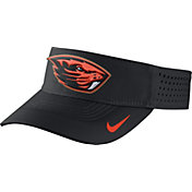 Nike Men's Oregon State Beavers Black Vapor Sideline Visor