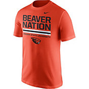 Nike Men's Oregon State Beavers Orange 'Beaver Nation' Local Verbiage T-Shirt