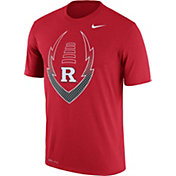 Nike Men's Rutgers Scarlet Knights Scarlet Football Icon Legend T-Shirt