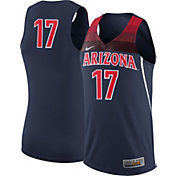 Nike Men's Arizona Wildcats #17 Navy Replica Basketball Jersey