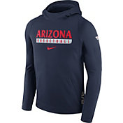 Nike Men's Arizona Wildcats Navy ELITE Basketball Performance Hoodie