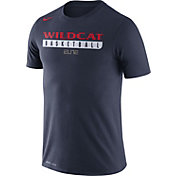 Nike Men's Arizona Wildcats Navy ELITE Basketball Practice Legend T-Shirt
