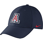 Nike Men's Arizona Wildcats Navy Dri-FIT Wool Swoosh Flex Hat